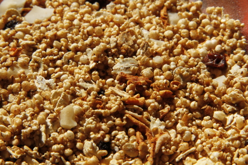 Granola Crocante: granola de quinua